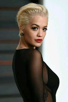 Rita ora short hair