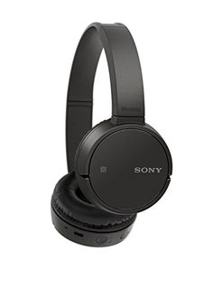 Sony MDRZX220BT/B Wireless, On-Ear Headphone, Black - Your favorite Beats have just gone cord-free. Lightweight and compact, you can now envelope yourself in full, balanced sound with the mdr-zx220bt on-ear wireless headphone.