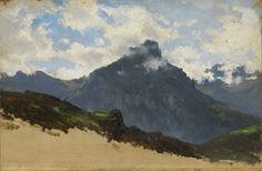 Montañas del puerto de Pajares. Carlos de Haes
