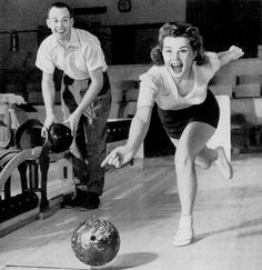 The thrill of bowling!