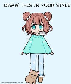 Art Style Challenge, Drawing Challenge, Anime Poses Reference, Drawing Reference, Anime Zodiac, Yandere Anime, Drawing Prompt, Art Inspiration Drawing, Cartoon Art Styles