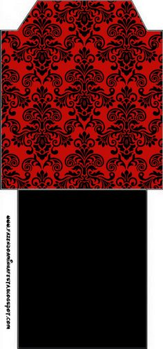 black-arabesques-in-red-free-printable-kit-083.jpg (747×1600)