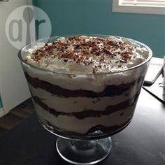 Trifle met chocola en Kahlua @ allrecipes.nl