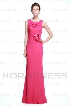 Bodenlang Meerjunfrau-Linie Mermaid Abendkleid mit Ein Schleife