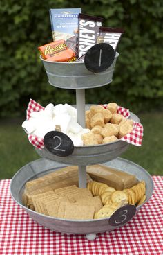 Backyard S'mores Station