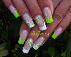 Ideas For Nails Design Frances Beauty French Pedicure Designs, Nail Tip Designs, Nail Designs Spring, Acrylic Nail Designs, Nails Design, French Gel, French Tip Nails, Irish Nails, Manicure Y Pedicure