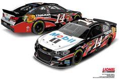 Jayski's® NASCAR Silly Season Site - 2013 NASCAR Sprint Cup Series #14 Paint Schemes. Nice car Tony!