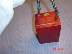 Vintage TORPEDO CAO Wood Cigar Box Handbag With Beaded Handle UNIQUE | Clothing, Shoes & Accessories, Women's Handbags & Bags, Handbags & Purses | eBay!