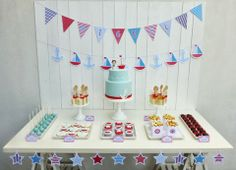 Peaceofcake ♥ Sweet Design: Sailor Party • Festa Marinheiro