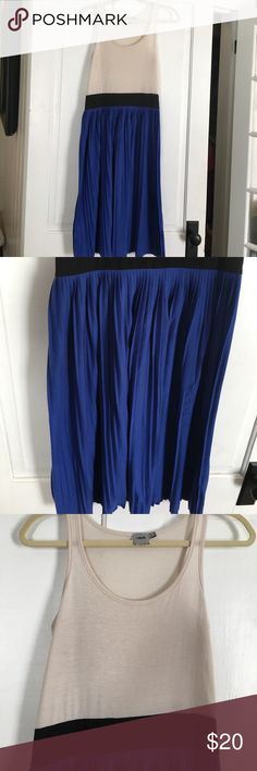 Asos dress. Excellent condition! Asos dress. Pleated skirt. Knit material. Very comfy. ASOS Dresses Midi