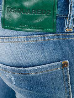 DSQUARED2 Clement jeans Milan Fashion, Dsquared2, Supermodels, Man Shop, Suits, Jeans, Clothes, Collection, Outfit