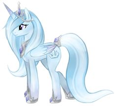 My little pony OC. The Crystal Princess My Little Pony Princess, Mlp My Little Pony, My Little Pony Friendship, Mlp Adoption, Crystal Ponies, Celestia And Luna, Little Poni, Mlp Fan Art, Imagenes My Little Pony
