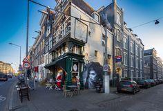 """JDL street art """"Black and White Beauty"""" – Street Art 360"""