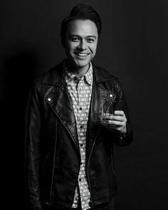 To our human genius bar, computer wizard and coding king: Happy birthday to T&P's Head of Web Development, Noel 🤖 Black And White Portraits, Web Development, Happy Birthday, Coding, Leather Jacket, Bar, Life, Fashion, Noel