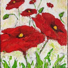 """First Poppies"" (ORIGINAL) is now available at chrisrice.com/art-shop! Free shipping and free copy of WIDEN with your order! Chris Rice, Poppies, Free Shipping, The Originals, Painting, Shopping, Instagram, Art, Craft Art"