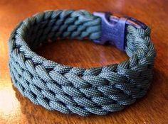 Slatt's Rescue Belt Weave | Parachute Cord Bracelet