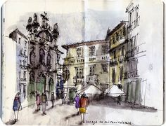 Urban Sketchers: Sketchers-travellers