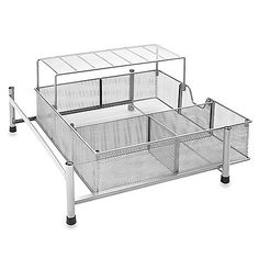 Under-the-Sink Wide Mesh Bathroom Cabinet Drawer from Bed, Bath, and Beyond