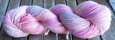 Purple Rainbow Yarns - Hand Dyed Yarns: Custom order...Purple Rainbow #2 DK version