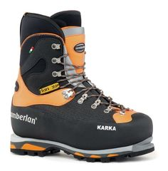 6000 Karka RR - new for 2015. Highly protective, with removable liner (no laces and no stitching on toe), flex point on heel, triple density PU wedge. Fully cramponable.
