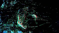 Stereoscopic 3d mapping at Mapping Festival 2012 / Museum of Art and His...