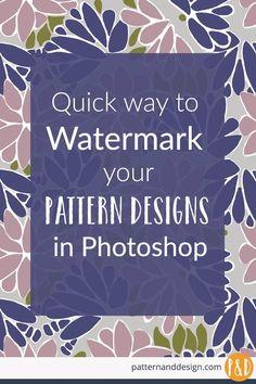 watermark designs, watermark photoshop, surface pattern designs, Photoshop brushes #surfacepatterndesign #textiledesign #watermarks #photoshopwatermarks #photoshopbrushes #watermarkdesigns