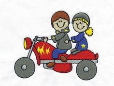 Please Repin!  Cool Bike Week Stickies Machine Embroidery Designs  http://www.designsbysick.com/details/becoolstickies