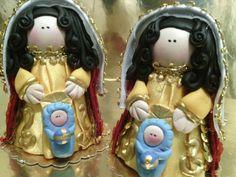 Virgen de coromoto vestida