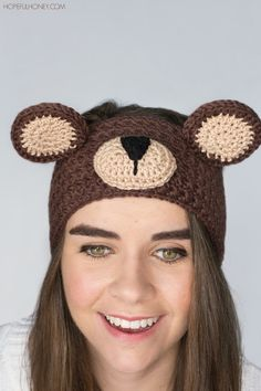 http://www.hopefulhoney.com/2015/09/teddy-bear-headband-crochet-pattern.html