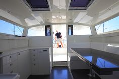 Vismara 50 Dragon, the first yacht prêt-à-porter, a summary of technologies and development over thirty years of design by Vismara. Innovation Design, Ds, Sailing, Boat, Shallow, Luxury, Epoxy, Masters, Twin