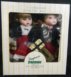 2 Vintage 1997 Seymour Mann Dolls Connoisseur Collection Dolls (Girl And Boy) With Stand And Certificate Of Authenticity by ProspectorCollection on Etsy