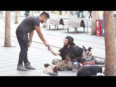 Homeless Honesty Social Experiment - YouTube