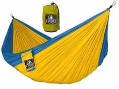 Archer OG Lightweight Single Nest Parachute Camping Hammock - Ropes and Carabiners Included * For more information, visit now : Camping Furniture