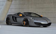 McLaren MP4 12C Spider....one of few convertibles I would gladly own.