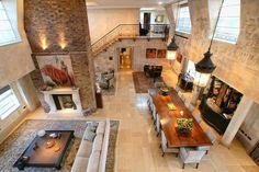 How to Decorate Interiors With High Ceilings - http://freshome.com/2013/03/29/how-to-decorate-interiors-with-high-ceilings/