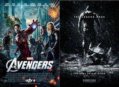 Avengers Vs Dark Knight Rises