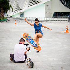 Ana Maria Suzano - Longboard Dancing Freestyle - Guanabara Boards Team Rider - Aulas de skate longboard para adultos - Aulas de long - Longboard Girls - Longboard Para Meninas