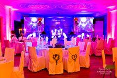 wedding event location with pink lights http://www.tatzlwurm.de by © radmila kerl wedding photography  Hochzeitslocation Eventlocation mit pinken rosa Lichtern