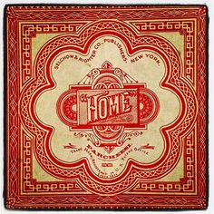 """<3 """"Home Tile"""" From My Most Favorite Childhood Board Game -=- PARCHEESI <3"""