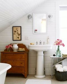 """3,714 Likes, 36 Comments - Lucy Rose (@birdie_farm) on Instagram: """"Hey everybody! Searching for inspiration for the attic bathroom at the Sparrow House and found this…"""""""