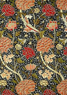 Arts and crafts Storage Organisation - Arts and crafts Movement William Morris - - Arts and crafts For Kids For School - - Home Arts and crafts Projects William Morris Wallpaper, William Morris Art, Morris Wallpapers, William Morris Patterns, Arts And Crafts For Teens, Art And Craft Videos, Art Nouveau, Victoria And Albert Museum, Textiles