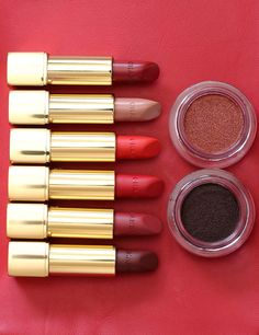 The Rouge Allure Velvet and the Rouge Allure Lipsticks ($37 each) and the…