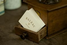 Balzac Brasserie  Branding, Art Direction, Typography