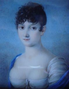 French School, Portrait of a young lady, ca.1820
