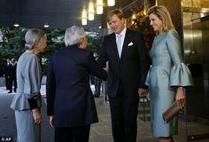 Hier, le roi Willem Alexander et la reine Maxima ont passé leur troisième et dernière journée au Japon où ils ont participé à une conférenc...