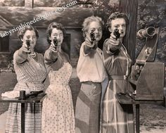 Women and their pistols