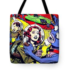 Streetwear Tote Bag featuring the mixed media Operation Peril 2 by Otis Porritt