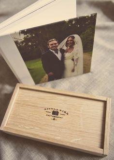 www.nicolakirkphotography.com  wedding photography packaging and 8x8 album.