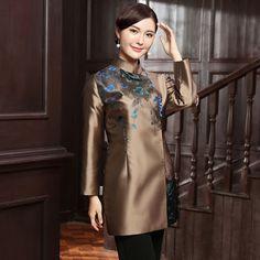 Lovely Modern Mandarin Collar Chinese Qipao Jacket - Chinese Jackets & Coats - Women