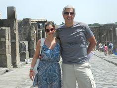 Visitar Pompéia: um sonho realizado. Itália, Julho de 2012.